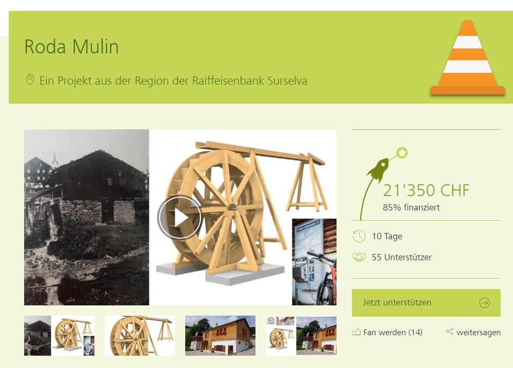 21350 Franken gesammelt